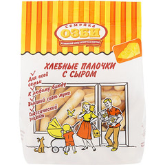 Хлебные палочки Семейка ОЗБИ с сыром 150 г