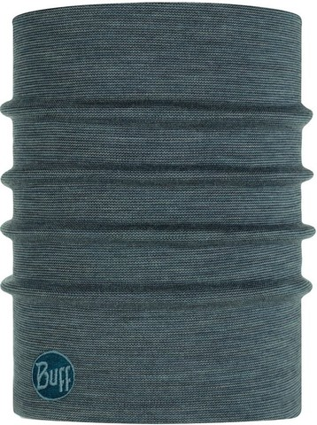 Теплый шерстяной шарф-труба Buff Wool heavyweight Ensign Multi Stripes фото 1
