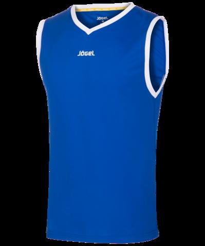 Майка баскетбольная JBT-1020-071, синий/белый