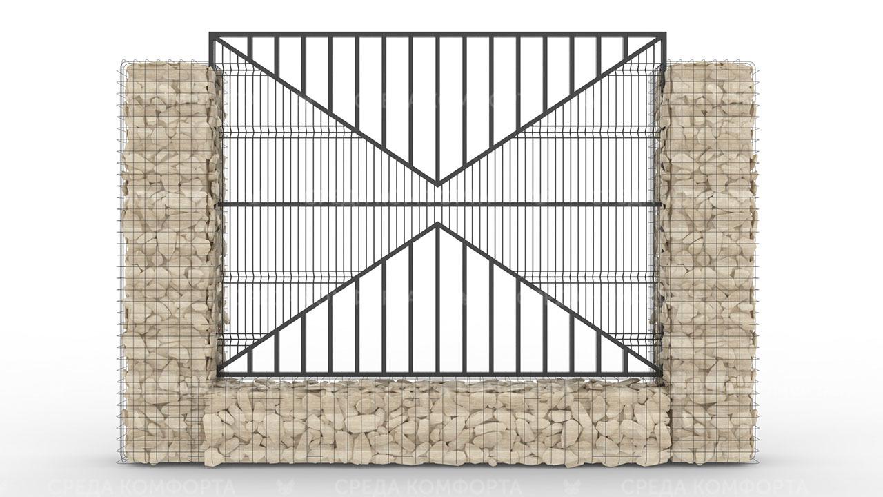Забор 3Д ZBR0088