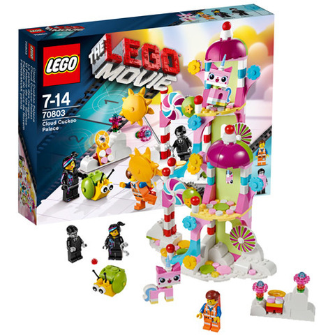 LEGO Movie: Заоблачный дворец 70803 — Cloud Cuckoo Palace! — Лего Муви Фильм