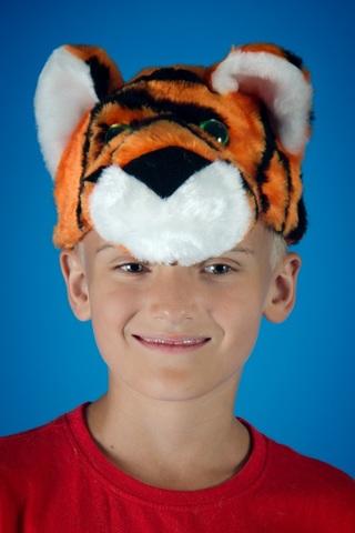 Карнавальная шапочка Тигра