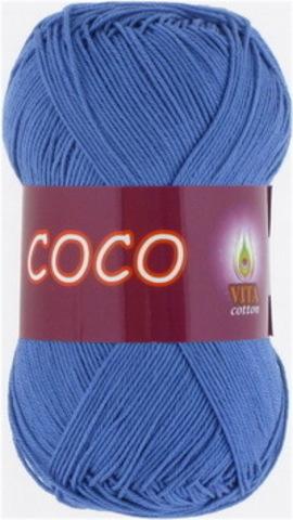 Пряжа Coco (Vita cotton) 3878 Голубая бирюза