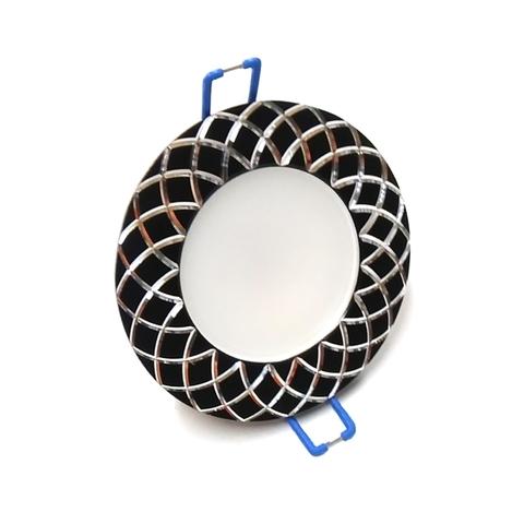 Светодиодный Led светильник встраиваемый Feron AL 780 Черный (круглый) 5W 4000K