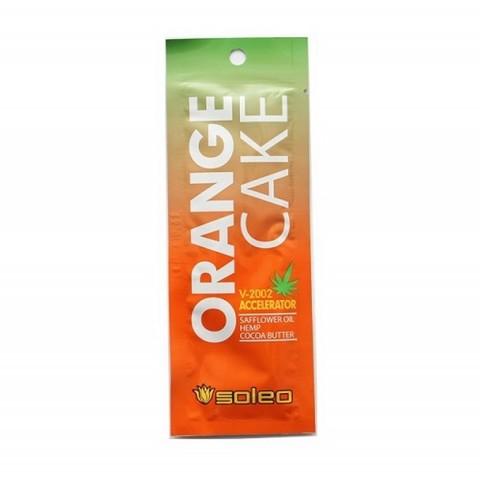 SOLEO Интенсивный усилитель загара с экстрактом конопли Orange Cake 15 мл