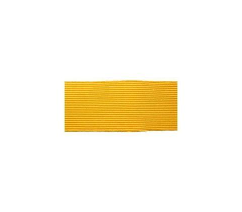 Галун шелковый (ширина 30 мм.) желтый