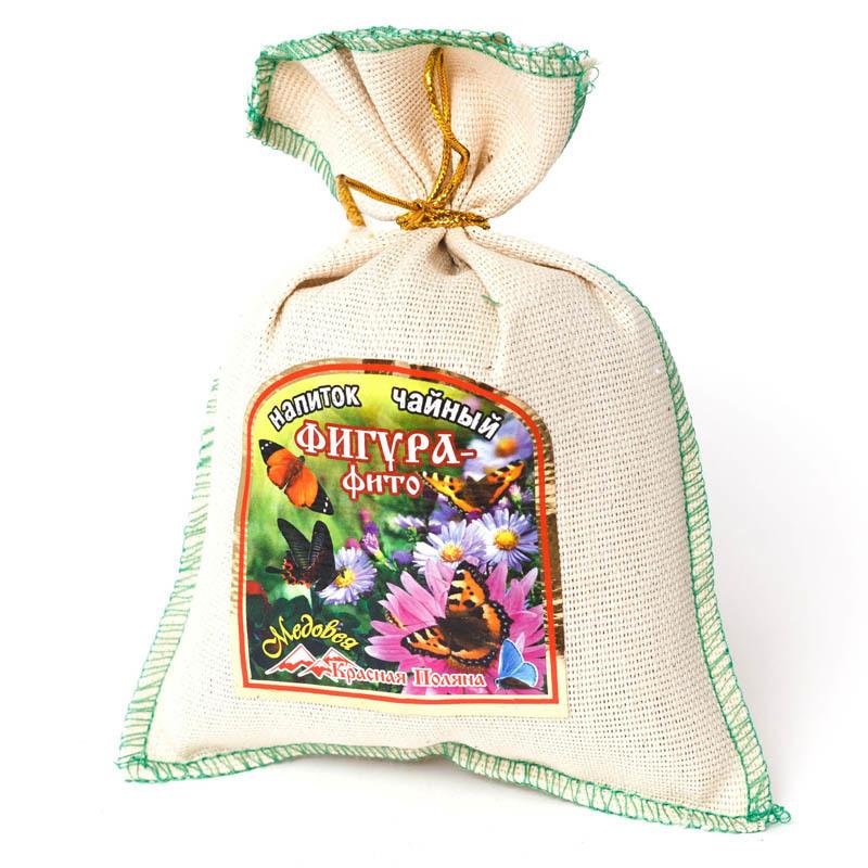 Чай травяной Фигура фито в мешочке Красная Поляна