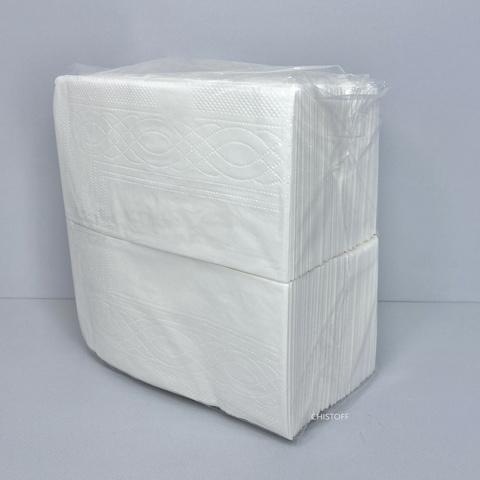 Салфетки Papero 33х33 см 1сл. 1/8 сложения (300 шт.) белые (NL015)