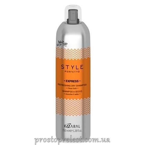 Kaaral Style Perfetto Express Refreshing Dry Shampoo - Сухий шампунь для волосся