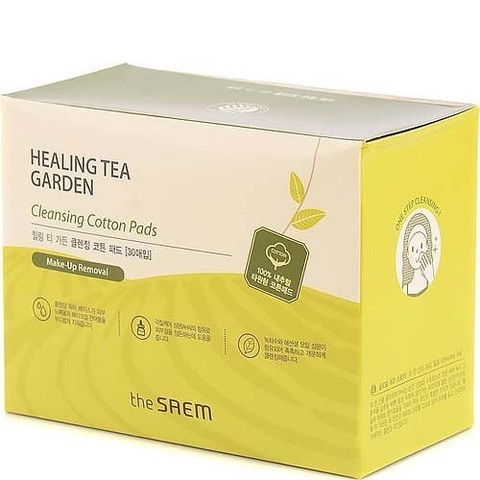 The Saem Healing Tea Garden Cleansing Cotton Pads