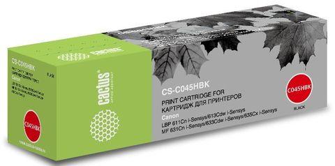 Картридж Cactus CS-C045HBK