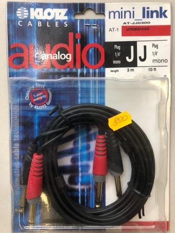 KLOTZ AT-JJ0300 - Соединительный аудио кабель RC204
