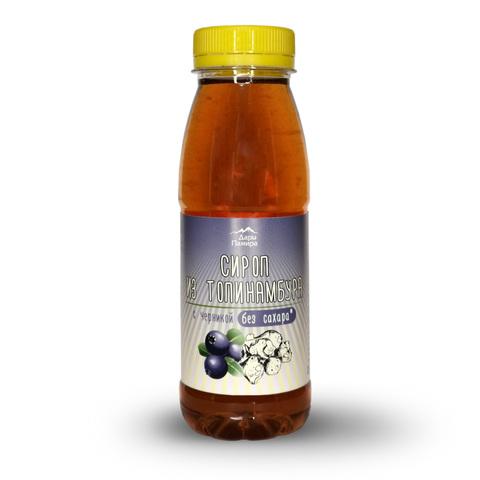 Сироп из Топинамбура натуральный с черникой, без сахара