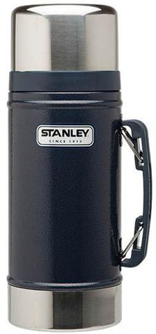 Картинка термос для еды Stanley classic food 0.7l Синий - 1