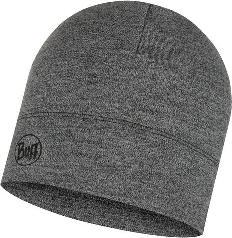 Шерстяная шапка Buff Hat Wool Midweight Light Grey Melange фото 1