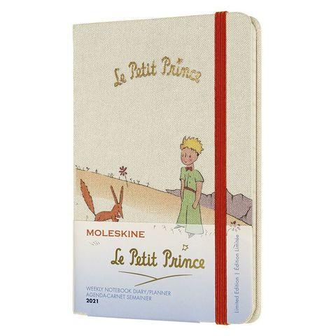 Еженедельник Moleskine LE L'Petit Prince WKNT Pocket 90x140мм 144стр. бежевый