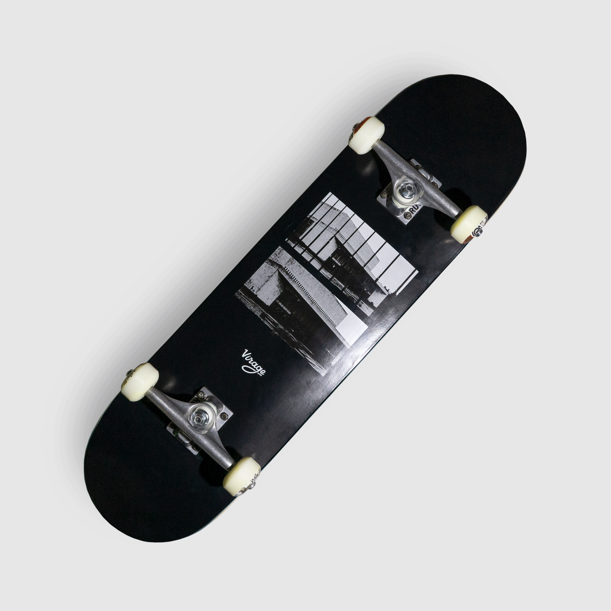Комплект Virage skateboards BKZ black 8.5 x 32