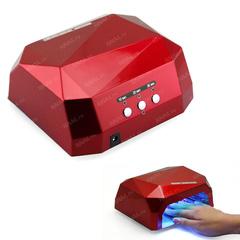 Лампа гибридная CCFL+Led 36 Вт красного цвета с магнитным дном