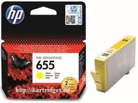 Картридж Hewlett-Packard (HP) CZ112AE №655
