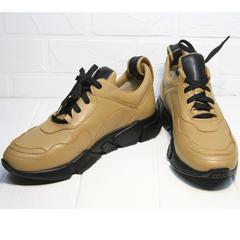 Кроссовки женские кожаные Poletto 2408 DB