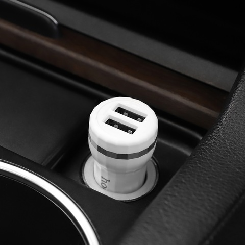 Z27 Staunch dual port in-car charger set(Type-C)
