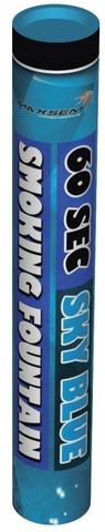 Дым синий 60 сек. h -220 мм.