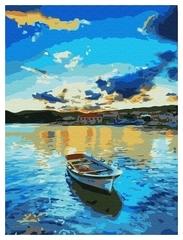 Картина по номерам Голубой закат