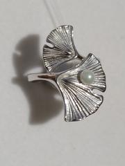 Жемчуг 12376(кольцо из серебра).