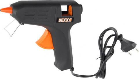 Пистолет DEXX клеевой (термоклеящий) электрический, 40Вт/220В, 11 мм