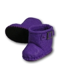 Сапожки-угги из фетра - Фиолетовый. Одежда для кукол, пупсов и мягких игрушек.