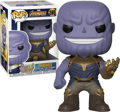 Marvel: Avengers Infinity War - Thanos Funko Pop! Vinyl Figure    Танос