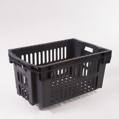 Пластиковый ящик овощной черный