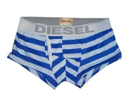 Мужские трусы боксеры Diesel Blue Stripe Boxer
