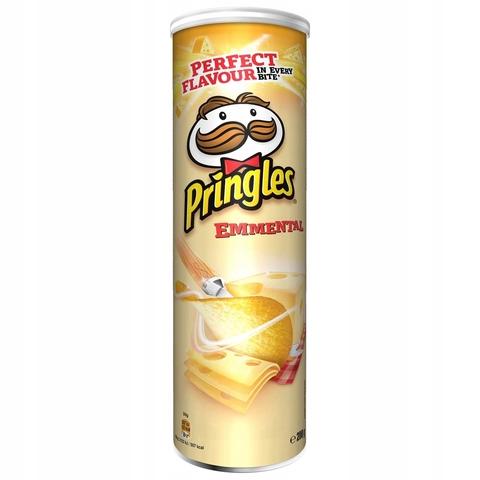 Чипсы Pringles Emmental Big Size Принглс Эмменталь 200 гр