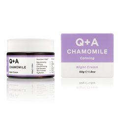 Q+A Ночной крем для лица CHAMOMILE