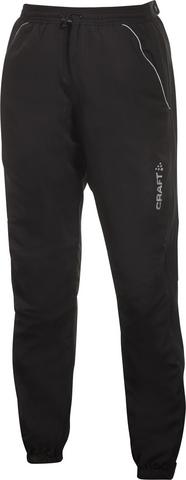 Женские лыжные брюки самосбросы Craft AXC Touring черные
