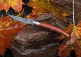 Нож складной филейный Opinel №8 VRI Folding Slim Bubinga