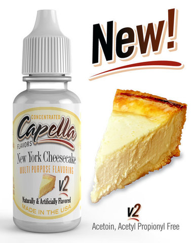 Ароматизатор Capella  New York Cheesecake v2