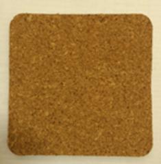 Пробка, лист 10*10 см, толщина 5 мм, 1 шт.