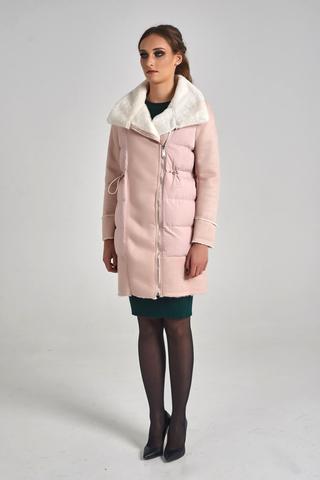 Куртка удлиненная с широким воротником недорого