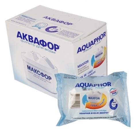 Модуль сменный фильтрующий Аквафор В100-25 (Максфор) (компл. 2шт), арт.и3022
