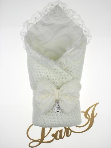 Демисезонный конверт одеяло Сказка (кремовый)