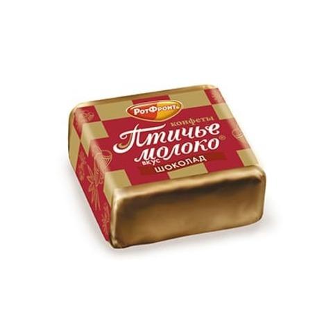 Конфеты Птичье молоко вкус шоколада, Рот Фронт