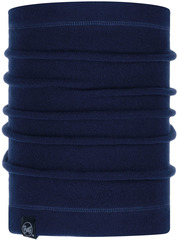 Шарф-труба флисовый Buff Neckwarmer Polar Solid Night Blue