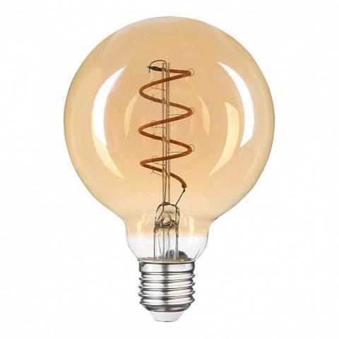 Светодиодная ретро лампа G80 LED Spiral 6W E27 2200K