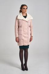Куртка удлиненная с широким воротником магазин