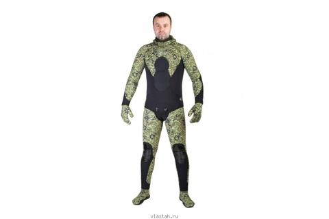 Гидрокостюм Scorpena C3 7 мм Green Camo – 88003332291 изображение 3