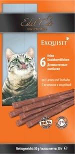 Edel Cat Лакомство для кошек Edel Cat Колбаски, ягненок, индейка _file53576450b5735_x150.jpg