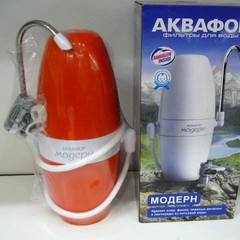 фильтр-насадка на кран Аквафор Модерн исп. 2