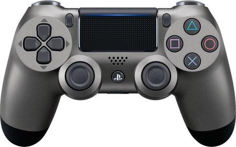 Геймпад Sony Dualshock 4 v2  (Steel Black, Черный) (PS4)